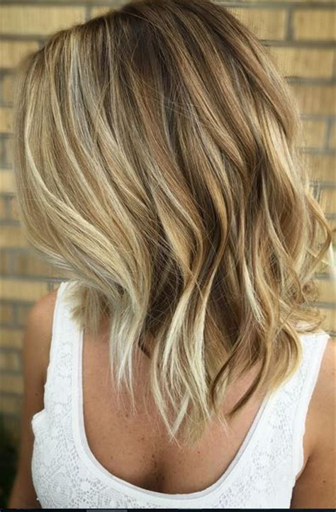 bob hair with high lights and lowlights 25 fantastic easy medium haircuts 2018 shoulder length