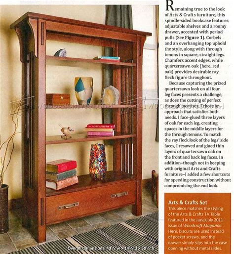 arts and crafts bookcase arts and crafts bookcase plans woodarchivist