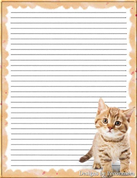 printable cat stationery 668 best stationery images on pinterest award