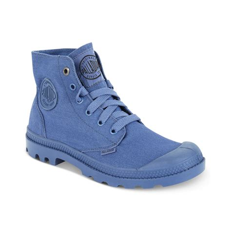 palladium boots palladium mono chrome boots in gray for lyst