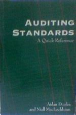 reference books of auditing auditing standards a reference niall maclochlainn