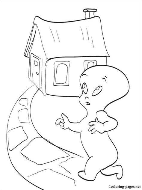 coloring pages of casper the friendly ghost free coloring pages of casper the friendly ghost