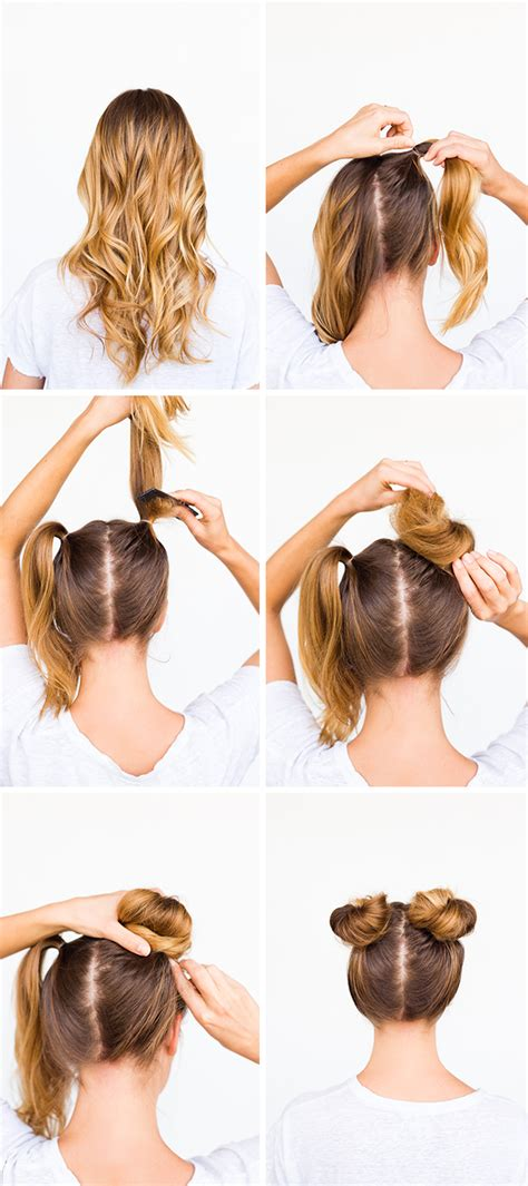 two buns are better than one bun hair tutorial