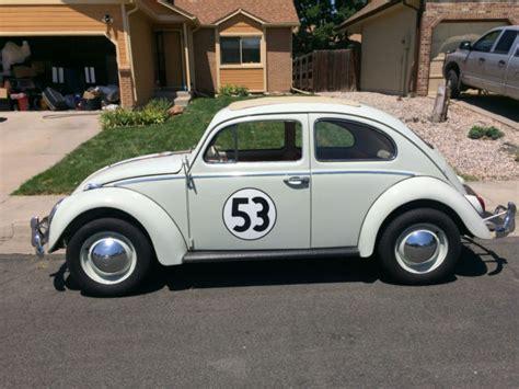 volkswagen beetle classic herbie 1963 vw beetle herbie fully animatronic volkswagen love