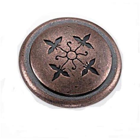 laurey cimarron 1 1 4 in antique copper cabinet knob