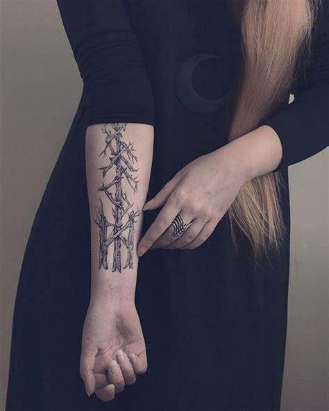 rune tattoo placement the 25 best rune tattoo ideas on pinterest viking rune