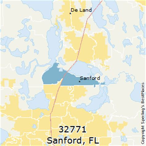 best places to live in sanford zip 32771 florida
