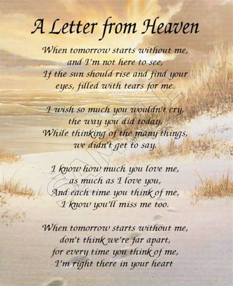 letter from heaven search bible scriptures