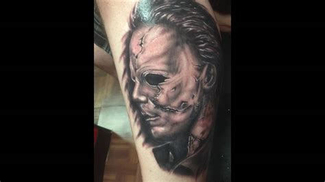 michael myers tattoo hd michael myers portrait