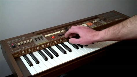 tutorial for casio keyboard casio synthesizer casiotone 405 just the beats youtube