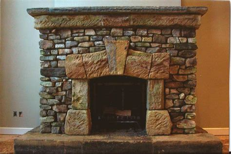 Fireplace Gravel by Renovation Place Modern Brick Wall White