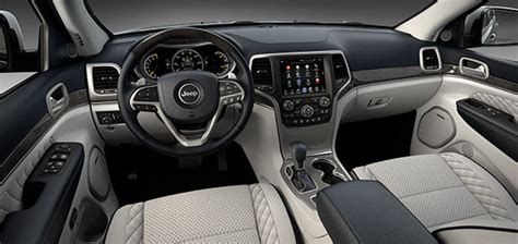 jeep summit interior 2017 jeep grand cherokee trailhawk and summit