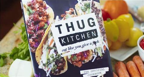 comedic cookbook commercials thug kitchen cookbook