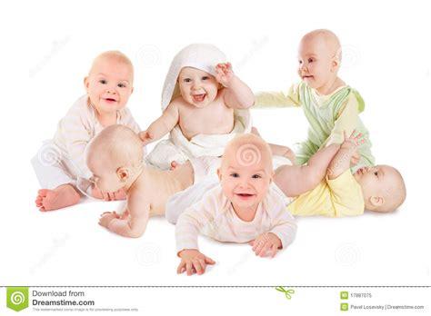 imagenes bebes alegres muchos beb 233 s sonrientes alegres foto de archivo libre de