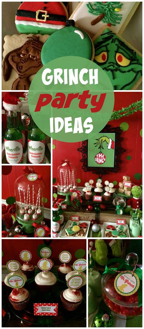 grinch pinterest kids party ideas 1000 ideas about grinch decorations on grinch grinch and the
