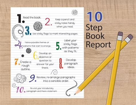 How Write A Book Report by How To Write A Succesful Book Report