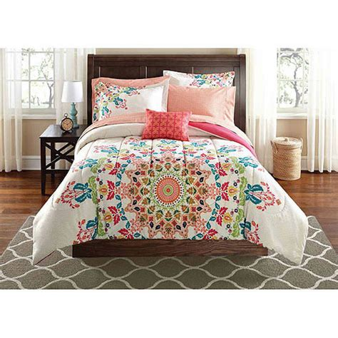 Twin Xl Full Queen College Girl White Spain Style 6 8pc Xl Bedding
