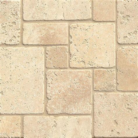 Bros Tile Mini tilecrest travertine mini versailles pattern mosaic tile colors