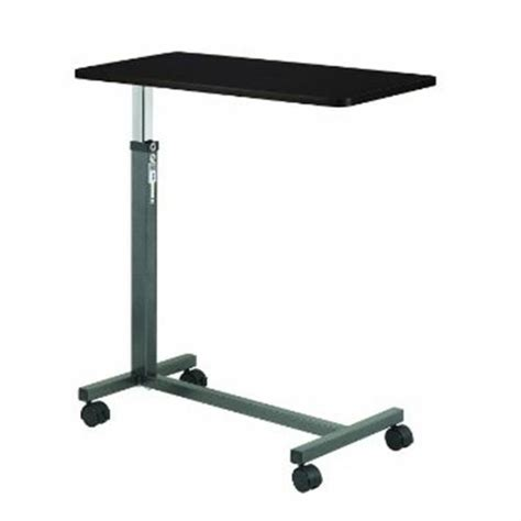 drive overbed laptop food tray rolling table adjustable hospital desk ebay