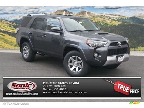 magnetic gray 2015 magnetic gray metallic toyota 4runner trail 4x4