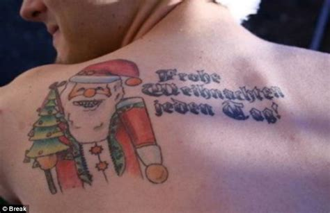 tattoo xmas tattoos are for life not just for christmas festive body
