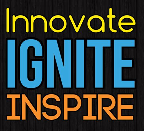 inspire create books innovate ignite inspire