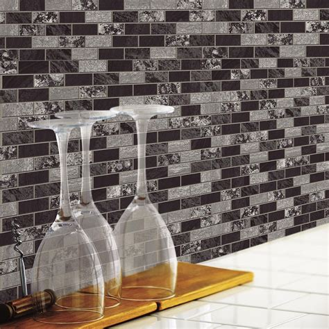 peel and stick kitchen backsplash roommates traditional marble peel and stick tile
