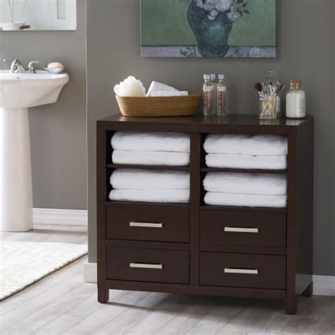 Floor Cabinet Bathroom by Belham Living Longbourn Bathroom Floor Cabinet Floor