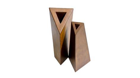 vasi in acciaio vasi corten fioriere in acciaio inox su misura accessori