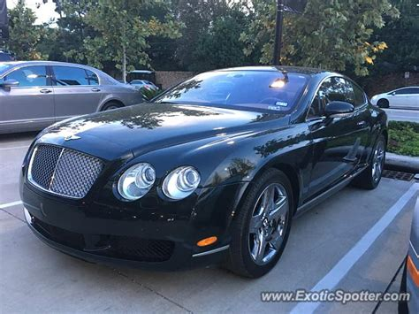 bentley in houston bentley continental spotted in houston on 08 20