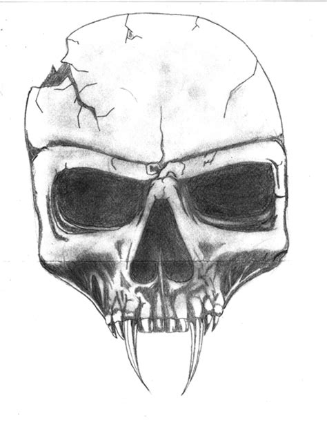 imagenes para dibujar una calavera de calaveras para dibujar a lapiz imagui