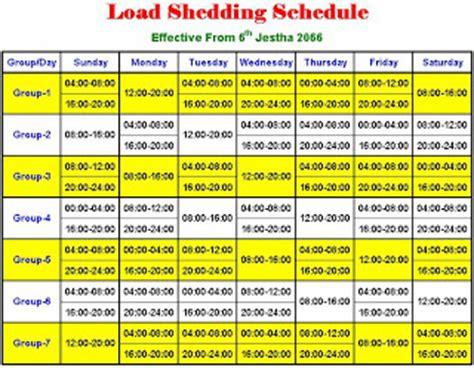Nea New Load Shedding by Eat It Nea Load Shedding Schedule