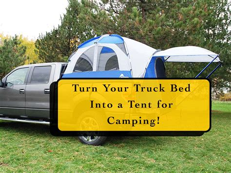 turn your bed into a private tent turn your truck bed into a tent for cing homestead guru