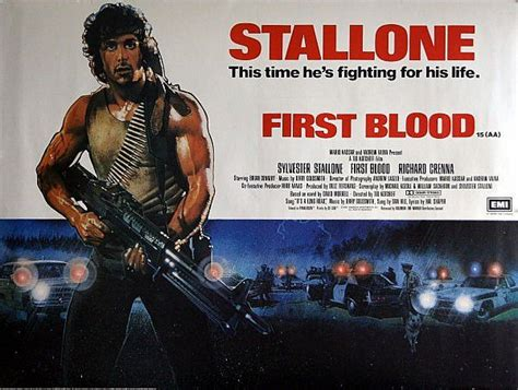 rambo film poster 18 best images about first blood on pinterest sylvester