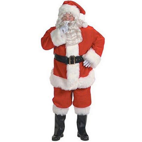 master halco xl professional quality santa suit costume