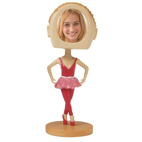 bobblehead picture frame bobbleheads ballerina sports photos novelty picture frames