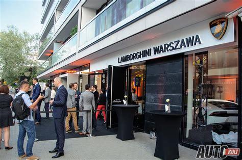 Lamborghini W Warszawie by Otwarcie Salonu Lamborghini W Warszawie I Polska Premiera