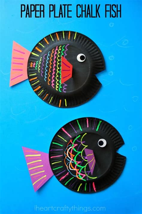 craft ideas using paper plates best 25 paper plate fish ideas on fish crafts