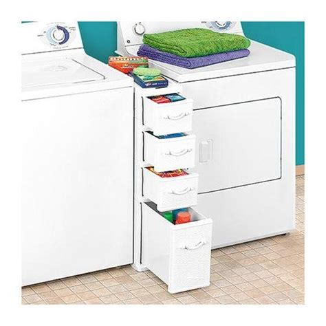 washer and dryer storage drawers rakuten between washer dryer storage for the home