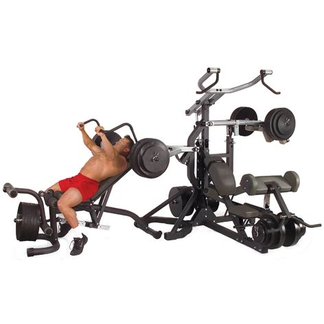 powerlift bench press body solid powerlift freeweight leverage gym sbl460p4 incredibody