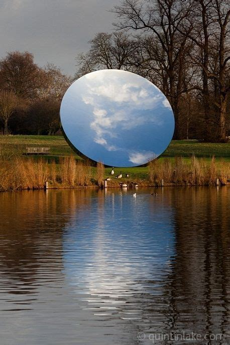 Les Vanités Dans L Contemporain by Anish Kapoor A Miniature Earth Created By A Mirror