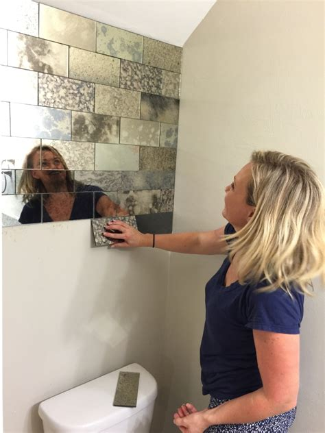 Glass Subway Tiles For Kitchen Backsplash antique mirror subway tiles the glass shoppe a division