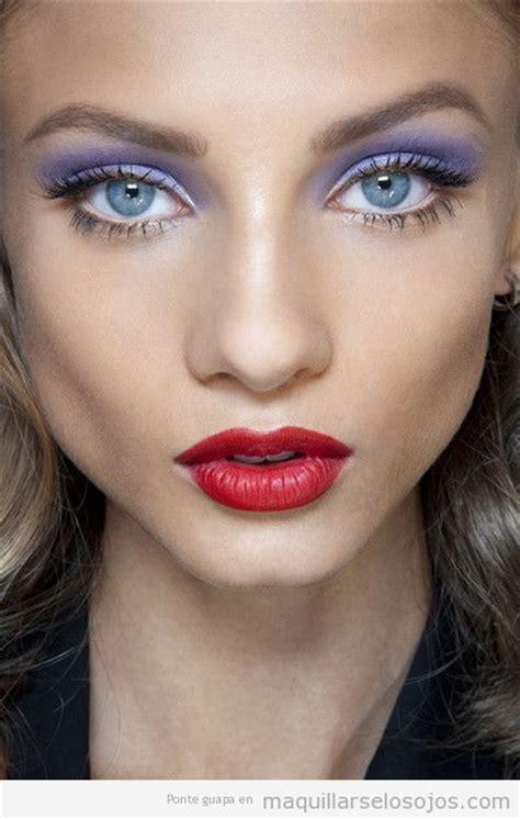 imagenes de ojos violetas ojos verdes maquillarse los ojos todo sobre el