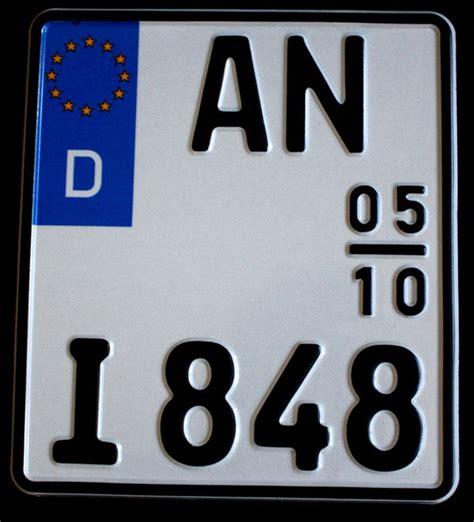 125er Motorrad Kennzeichen by Kurzes Nummernschild Gt Kategorie Gt Kennzeichen