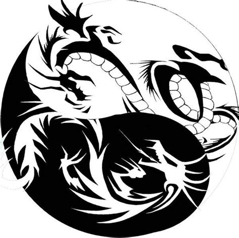 yin yang dragon tattoos yin yang tribal by xisangelraine on deviantart