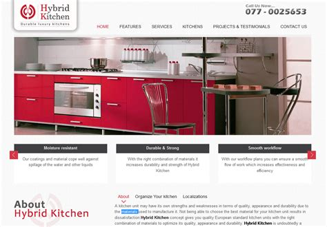 hybrid kitchen recent projects by oganro travel portal websites and