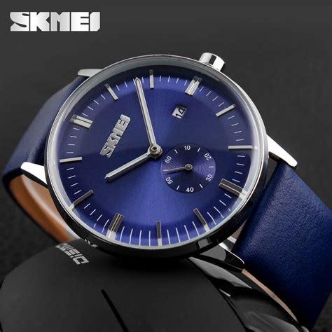 Jam Tangan Pria skmei jam tangan analog pria 9083cl blue