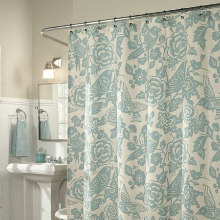 feather curtains glenwood shower curtain feathers nice and joss and main
