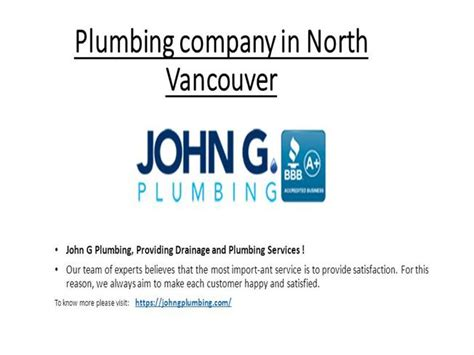 Vancouver Plumbing Company by Plumbing Company In Vancouver Authorstream