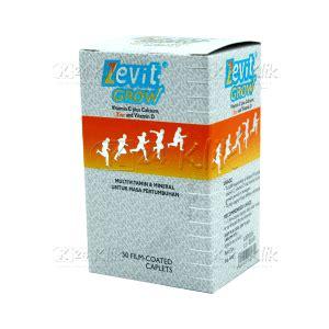 Vitamin Zevit Grow Jual Beli Zevit C Grow Btl 50s K24klik